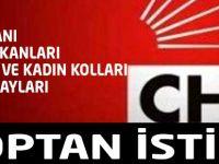 CHP Toptan İstifa Etti