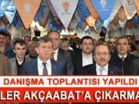 Ak Parti Akçaabat  İlçe Teşkilatı Mart ayı ilçe danışma meclisi toplantısı yapıldı.