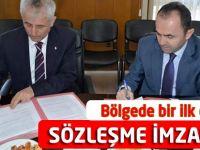 Bölgede Bir İlk Olacak sözleşme İmzalandı