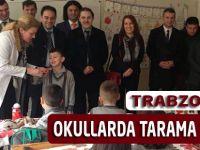 Trabzon HSM Diş Taraması Yapıyor