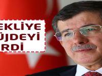 Başbakan Ahmet Davutoğlu emeklilere müjdeyi verdi.