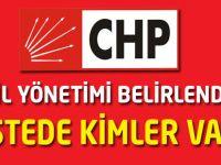 CHP İl Yönetimi Belirlendi