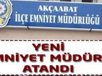 Akçaabat'a Emniyet Müdürü Atandı