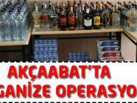 Akçaabat'ta Operasyon