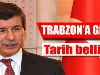 Başbakan Trabzon'a Geliyor
