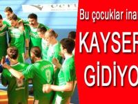 Kayseri'ye Gidiyoruz