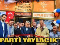 AK Parti Yaylacık Mahalle Temsilciliği Açıldı