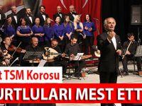 Akçaabat Belediyesi Türk Sanat Müziği korosu  konserlerine devam ediyor.