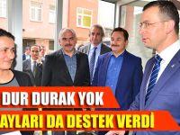 Ak Parti Trabzon milletvekili adayı Akçaabat'ta bir dizi ziyaretlerde bulundu.