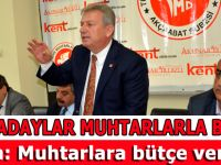 CHP Trabzon milletvekili adayları Muhtarlar Derneğini ziyaret etti.