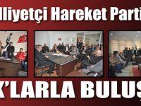 MHP Stk'ları Ziyaret Etti