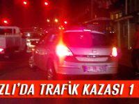 Akçaabat'ta Trafik Kazası 1 Yaralı