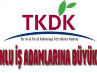 Trabzonlu iş adamlarına büyük destek