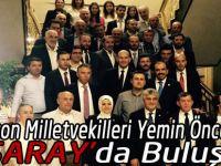 AK Parti Milletvekilleri  ve partililer Saray'da Buluştu