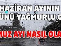 Trabzon Haziran Ayının 23 Gününü Yağmurlu Geçirdi
