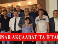 AK Parti Trabzon Milletvekili Dr. Adnan Günnar,  iftar yemeği düzenledi.