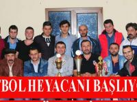 Köy Futbol Turnuvası Başlıyor