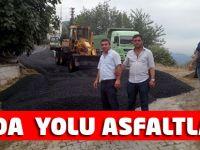 Abeda asfaltlandı