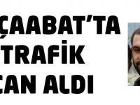 Akçaabat'ta Trafik Kazası 1 Ölü