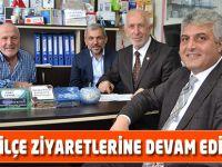 Trabzon Milletvekili Adnan Günnar, ilçe gezilerine devam ediyor.