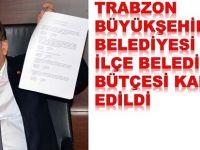 Belediyelerin Bütçesi Onaylandı