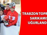 Trabzon Toprağıyla Sarıkamış'a Uğurlandılar