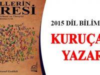 2015 Dil Bilim Ödülü Kuruçamlı Yazarın