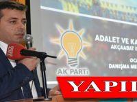 AK Parti Akçaabat İlçe Danışma Toplantısı gerçekleştirildi