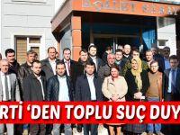 AK Partililerden Toplu Şikayet