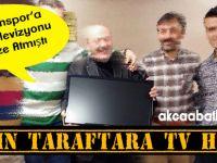 Çılgın Taraftara TV Hediye