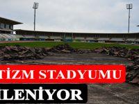 Söğütlü Atletizm Stadyumu bakıma alındı.