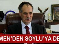 Türkmen'den Soylu'ya Destek