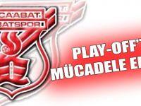 Akçaabat Sebatspor, play-off'ta.