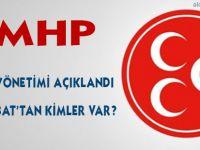 MHP Yönetiminde Kimler Olacak?