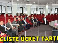 Mecliste Otopark Ücretleri Tatışıldı
