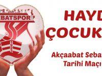 Sebatspor'un Tarihi Sınavı