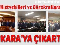 Akçaabat'an Ankara'ya Çıkartma