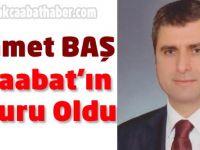 Mehmet Baş Daire Başkanı Oldu