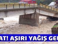 Trabzon'a sel ve heyelan uyarısı