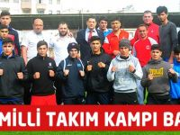 Boks Milli Takımı Trabzon 'da Kampa Girdi