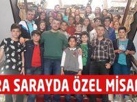 Ankara Sarayda Özel Misafirler