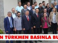 Başkan Türkmen Basınla Buluştu