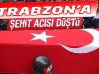 Trabzon'a Şehit Acısı