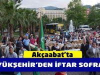 Büyükşehir,  Akçaabat'ta İftar Sofrası Kurdu