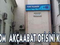 Türk Telekom Ofisi Kapandı