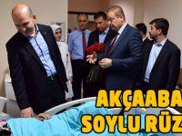 Soylu'dan Akçaabat Hastanesi'ne Ziyaret