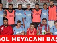 Futbol Turnuvası Başladı