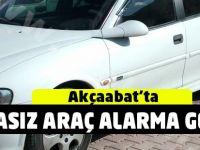 Plakasız Araç Alarmı