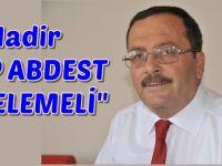 Nadir AK Parti'yi hedef Aldı