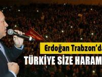 Erdoğan Trabzon'da Konuştu
